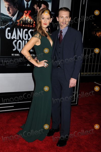 Abigail Carpenter Photo - 7 January 2013 - Hollywood California - Abigail Carpenter James Hebert Gangster Squad Los Angeles Premiere held at Graumans Chinese Theatre Photo Credit Byron PurvisAdMedia