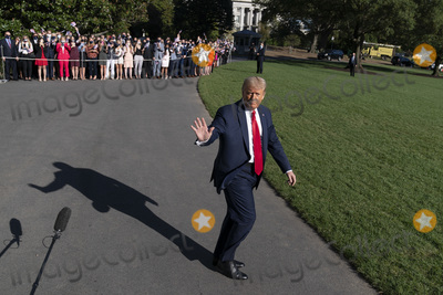 Photo - President Donald J Trump Departs the White House