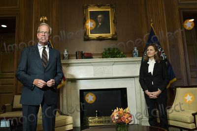 Photos From Amy Coney Barrett Capitol Hill Courtesy Call Jerry Moran