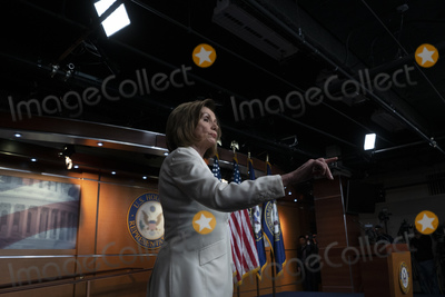 Photos From Speaker of the United States House of Representatives Nancy Pelosi Press Conference