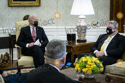 Photo - President Biden and Vice President Harris Meet with Labor Leaders