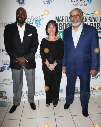 Martin Luther Photo - 15 January 2018 - Los Angeles California - Darrell Brown Michelle Mayer Lenny Mcneill Martin Luther King Jr Kingdom Day Parade  VIP Breakfast Photo Credit F SadouAdMedia
