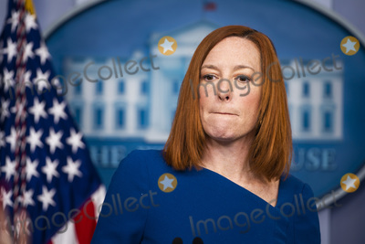 Photos From Jen Psaki briefs the media at White House
