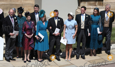 Peter Phillips Photo - 19 May 2018 - Royal Family Zara Phillips Tindall Mike Tindall Princess Anne Tim Laurence Autumn Phillips Peter Phillips Princess Eugenie Jack Brooksbank Princess Beatrice Prince Andrew Duke of York at Prince Harry Duke of Sussex and Meghan Markle Duchess of Sussex wedding in St Georges Chapel in Windsor Castle Photo Credit ALPRAdMedia