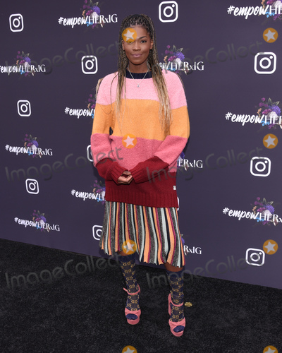 Amber Grimes Photo - 24 January 2020 - West Hollywood California - Amber Grimes Instagrams GRAMMY Luncheon at Yasbel Photo Credit Billy BennightAdMedia
