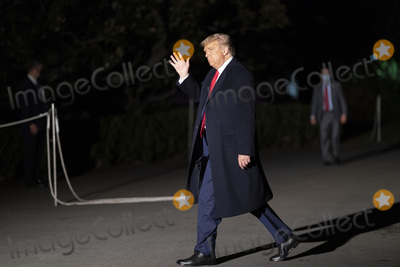 Photos From President Donald Trump returns to the White House