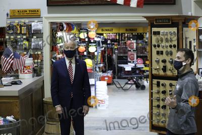 Photos From Joe Biden visits a small business - Washington