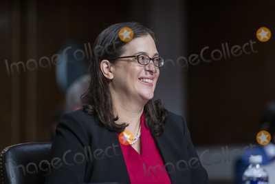 Photo - Jessica Lewis appears before a Senate Committee on Foreign Relations hearing for her nomination to be an Assistant Secretary (Political-Military Affairs) in the Dirksen Senate Office Building in Washington DC Wednesday July 28 2021 Credit Rod Lamkey  CNPAdMedia