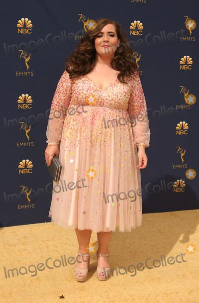 Aidy Bryant Photo - 17 September 2018 - Los Angles California - Aidy Bryant 70th Primetime Emmy Awards held at Microsoft Theater LA LIVE Photo Credit Faye SadouAdMedia
