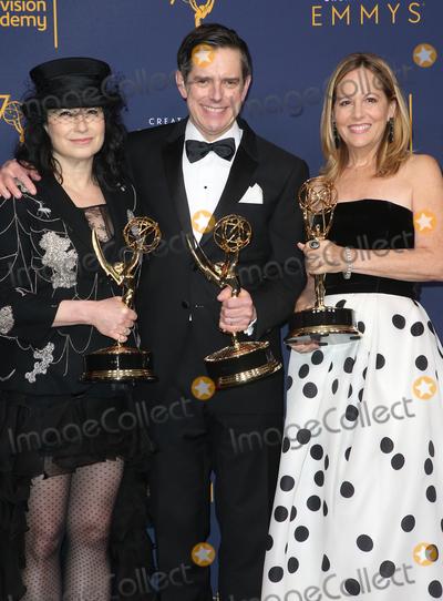 Amy Sherman Photo - 08 September 2018 - Los Angeles California - Amy Sherman-Palladino Daniel Palladino Robin Urdang 2018 Creative Arts Emmys Awards held at Microsoft Theater Photo Credit F SadouAdMedia
