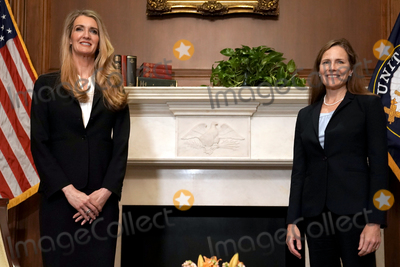 Photo - Amy Coney Barrett Capitol Hill Courtesy Calls