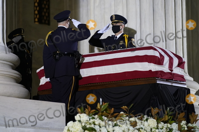 Photo - Associate Justice Ruth Bader Ginsburg  in Repose at the Supreme Court