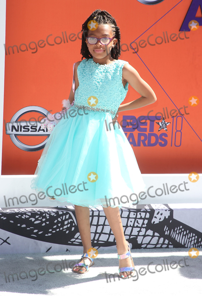 Naomi Wadler Photo - 24 June 2018 - Los Angeles California - Naomi Wadler 2018 BET Awards held at the Microsoft Theater Photo Credit F SadouAdMedia