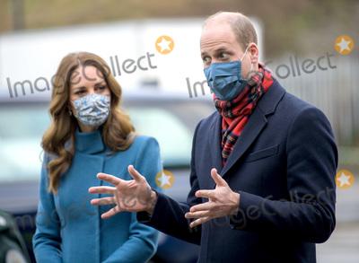 Photos From Kate and William Visit the Scottish Ambulance Service at Newbridge