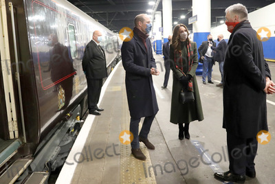 Photos From Kate and William Embark on 3 Day UK Tour on Royal Train From London Euston Station