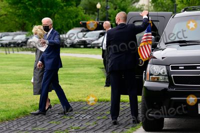 Photos From U.S. President Joe Biden and First Lady Jill Biden board Marine One on the Ellipse of the White House in Washington