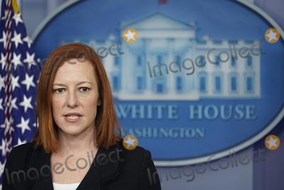 Photos From White House Press Secretary Jen Psaki holds a news briefingNY
