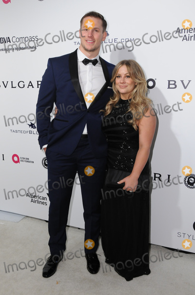 Andrew East Photo - 26 February 2017 - West Hollywood California - Shawn Johnson Andrew East 25th Annual Elton John Academy Awards Viewing Party held at West Hollywood Park Photo Credit Birdie ThompsonAdMedia