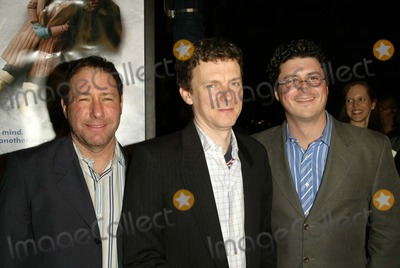 Anthony Bregman Photo - Anthony Bregman Michel Gondry and Steve Golin at the Eternal Sunshine Of The Spotless Mind World Premiere at the Academy of Motion Picture Arts and Sciences Beverly Hills CA 03-09-04