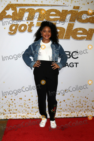 Photo - Amanda Menaat the Americas Got Talent Season 13 Live Show Red Carpet Dolby Theater Hollywood CA 08-14-18