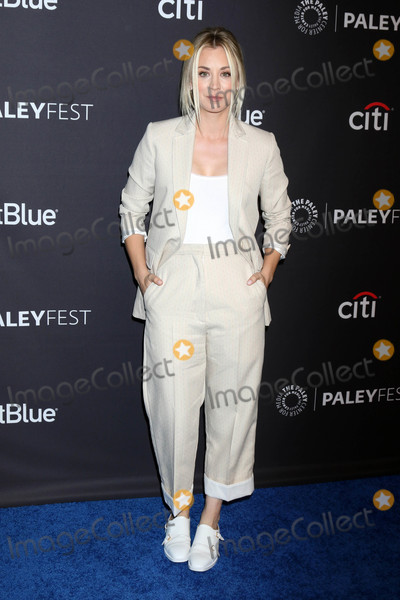 Photo - Kaley Cuocoat the 2018 PaleyFest Los Angeles - Big Bang Theory Young Sheldon Dolby Theater Hollywood CA 03-21-18