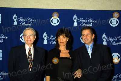 Army Archerd Photo - Army Archerd Katey Sagal and Anthony LaPaglia at the 30th Annual Peoples Choice Awards Nominations Announcement Beverly Hilton Hotel Beverly Hills CA 12-02-03