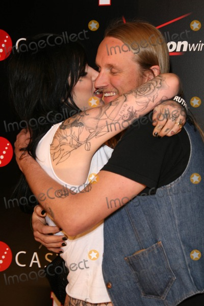 Orbi Orbison Photo - Kat Von D and Alex Orbi Orbison at the Verizon Wireless And People party honoring Grammy Nominee Timbaland Avalon Hollywood Hollywood CA 02-08-08