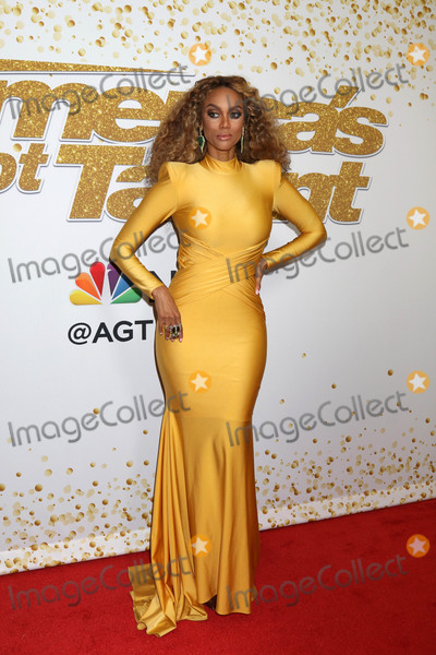 Photo - Tyra Banksat the Americas Got Talent Season 13 Live Show Red Carpet Dolby Theater Hollywood CA 08-14-18