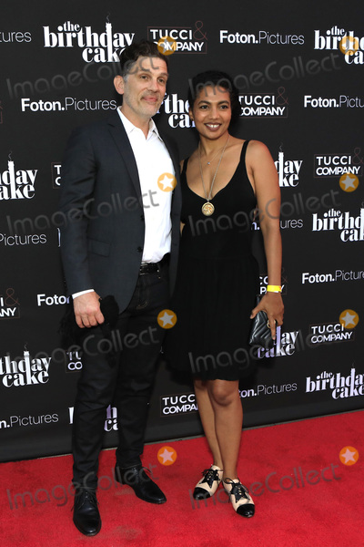 Photo - LOS ANGELES - MAR 24  Tom Carter Toni Ann DeNoble at The Birthday Cake LA Premiere at the Fine Arts Theater on March 24 2021 in Beverly Hills CA