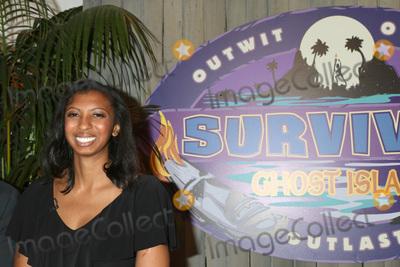 Photo - LOS ANGELES - MAY 23  Laurel Johnson at the Survivor Ghost Island Finale Photo Call at CBS Studios Radford on May 23 2018 in Studio City CA