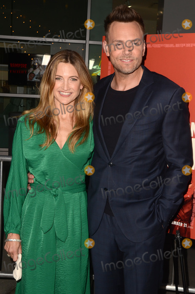 Photo - LOS ANGELES - SEP 12  Sarah Williams Joel McHale at the Assassination Nation Los Angeles Premiere at the ArcLight Theater on September 12 2018 in Los Angeles CA