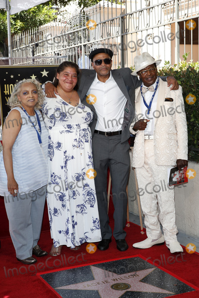 Anthony Wilson Photo - LOS ANGELES - SEP 4  Sabrina Wilson Li-Nie Wilson John Wilson Anthony Wilson at the Jackie Wilson Star Ceremony on the Hollywood Walk of Fame on September 4 2019 in Los Angeles CA