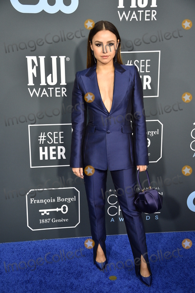 Aimee Carrero Photo - LOS ANGELES - JAN 12  Aimee Carrero at the Critics Choice Awards 2020 at the Barker Hanger on January 12 2020 in Santa Monica CA
