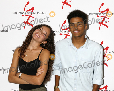 Photo - LOS ANGELES - AUG 19  Lexi Stevenson Noah Alexander Gerry at the Young and Restless Fan Event 2017 at the Marriott Burbank Convention Center on August 19 2017 in Burbank CA