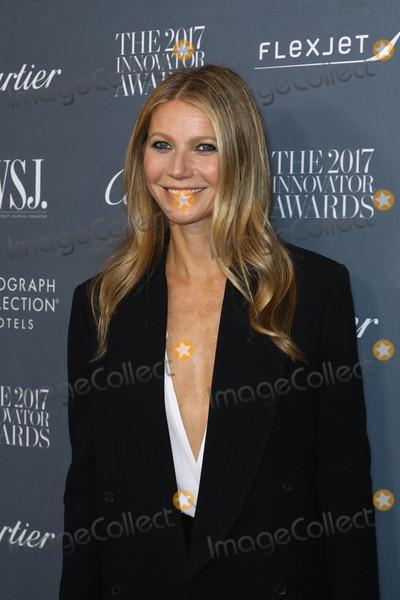 Photo - Photo by John NacionstarmaxinccomSTAR MAX2017ALL RIGHTS RESERVEDTelephoneFax (212) 995-119611117Gwyneth Paltrow at WSJ Magazine 2017 Innovator Awards in New York City