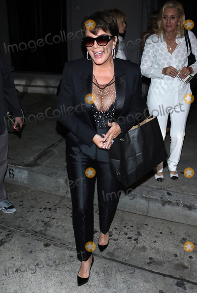 Photos From Kris Jenner is seen in Los Angeles