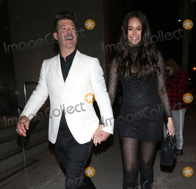 Photos From Robin Thicke and April Love Geary