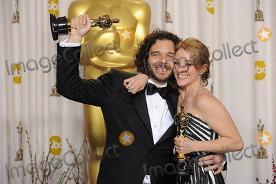 Andrea Nix Photo - Best Documentary Short Winners Sean Fine and Andrea Nix Fine at the 85th Academy Awards at the Dolby Theatre Los Angeles