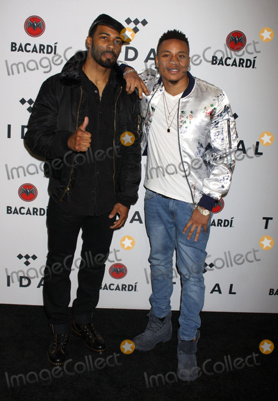 Photo - Photo by Victor MalafrontestarmaxinccomSTAR MAXCopyright 2017ALL RIGHTS RESERVEDTelephoneFax (212) 995-1196101717Omari Hardwick and Rotimi at The Third Annual TIDAL X Benefit Concert held at Barclays Center in Brooklyn New York(NYC)