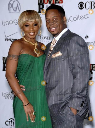 Photos From Mary J. Blige and Kendu Isaacs at Conde Nast Media Group's 'Movies Rock'. (Hollywood, CA)