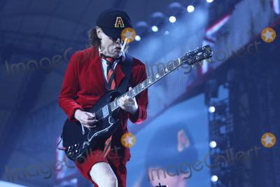 ACDC Photo - Guitar player ANGUS YOUNG ACDC-concert Hamburg Volksparkstadion 26052016