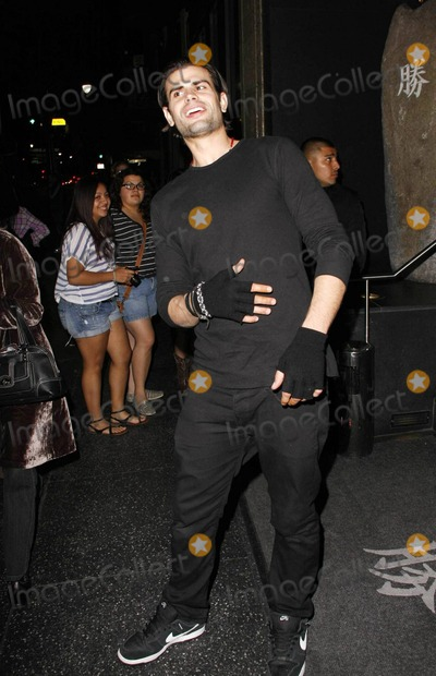 AJ Lamas Photo - Actor Lorenzo Lamas celebrates his 53rd birthday with fiance Shawna Craig and son Alvaro Joshua AJ Lamas at Katsuya  Lorenzo posed Shawna who wore very tight and low-riding patterned pants with a tiny top in front of his sleek grey sports car Pictured AJ Los Angeles CA 012011