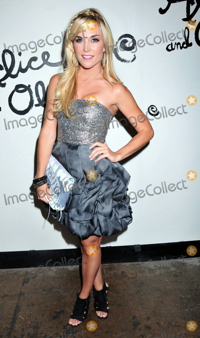 Alice  Olivia Photo - Tinsley Mortimer at the Alice and Olivia fashion show during Mercedes Benz Fashion Week in New York NY 91410