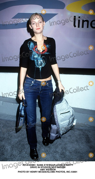 Amy Wesson Photo -  Sama Eyewear Launch Party Drive in Studios NYC 032201 Amy Wesson Photo by Henry McgeeGlobe Photos Inc