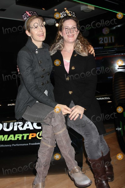 Ana Gasteyer Photo - NYC  113010Kelly Rutherford (wearing knee high boots) and Ana Gasteyer help Duracell power the New Year by visiting the launch of the pop-up mobile Duracell Smart Power Lab to pedal Power Rovers that are collecting energy to power the iconic 2011 numerals on New Years Eve in Times SquarePhoto by Adam Nemser-PHOTOlinknet