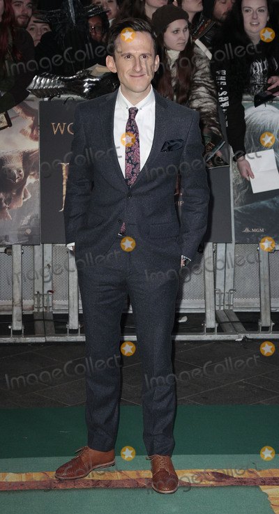 Adam Brown Photo - Dec 01 2014 - London England UK - The Hobbit The Battle Of The Five Armies World Premiere - Red Carpet Arrivals Odeon Leicester SquarePhoto Shows Adam Brown