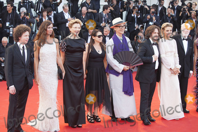 Anna Mouglalis Photo - VENICE ITALY - AUGUST 30 Venezia 74 jury members Michel Franco Anna Mouglalis president of the jury Annette Bening Yonfan Ildiko Enyedi Edgar Wright Jasmine Trinca and David Stratton walk the red carpet ahead of the Downsizing screening and Opening Ceremony during the 74th Venice Film Festival at Sala Grande on August 30 2017 in Venice Italy(Photo by Laurent KoffelImageCollectcom)