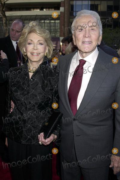 Anne Buydens-Douglas Photo - Kirk Douglas and Anne Buydens Douglas at the premiere of It Runs in The Family New York April 13 2003