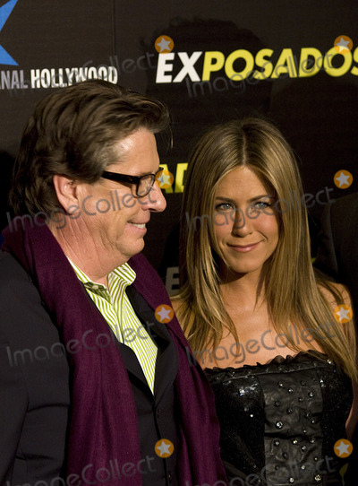 Andy Tennant Photo - Actress Jennifer Aniston and director Andy Tennant (L)  at the Exposados (The Bounty Hunter) premiere at the Callao cinema on March 30 2010 in Madrid Spain