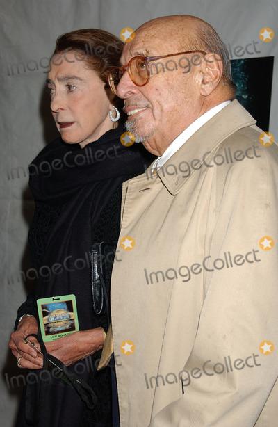 Ahmet Ertegun Photo - NEW YORK DECEMBER 9 2004    Ahmet and Mica Ertegun at the NYC premiere of The Life Aquatic with Steve Zissou at the Ziegfeld Theater